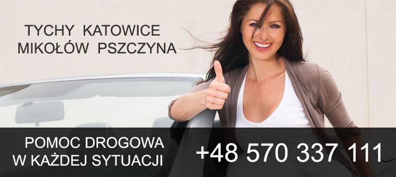 Pomoc drogowa KAMIL - Tychy, Katowice, Mikołów i Pszczyna