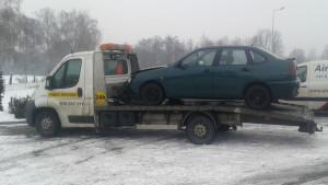 samochód na lawecie - FHU Kamil