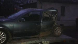 samochód po wypadku - FHU Kamil